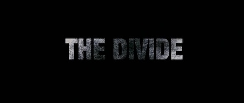 The Divide title screen