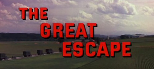 The Great Escape title screen