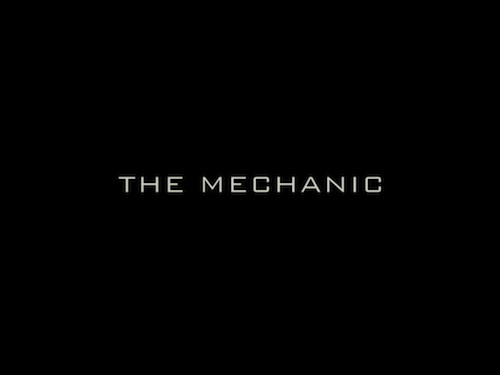 The Mechanic title screen
