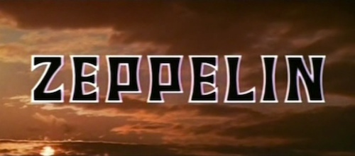 Zeppelin title screen