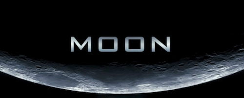 Moon title screen