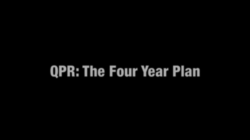 QPR: The Four Year Plan title screen
