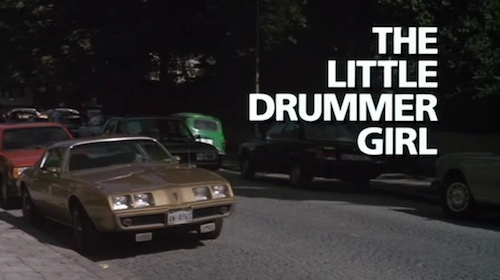 The Little Drummer Girl title screen