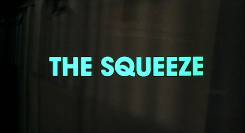 The Squeeze title screen