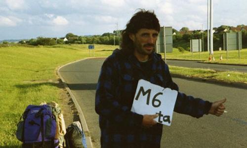 Undercover spycop Sergeant John Dines posing as activist 'John Barker'
