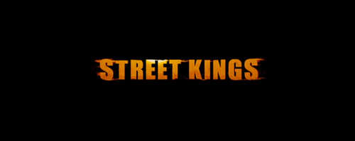 Street Kings title screen