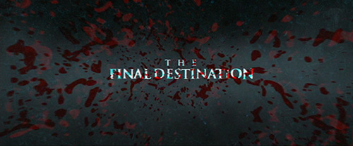 The Final Destination title screen