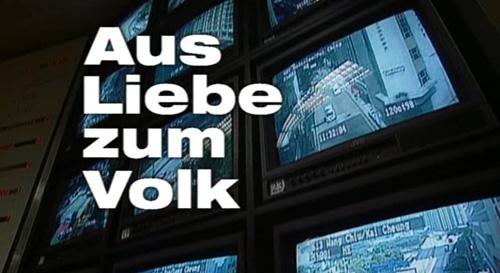 Aus Liebe Zum Volk title screen