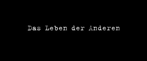 Das Leben Der Anderen title screen