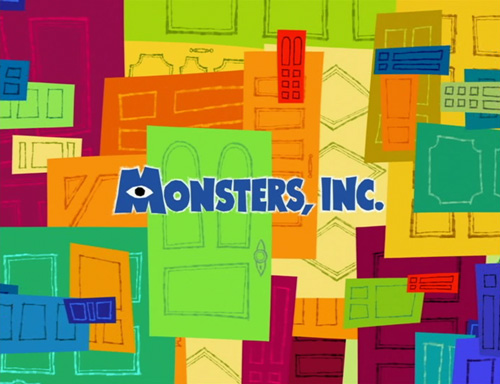 Monsters, Inc. title screen