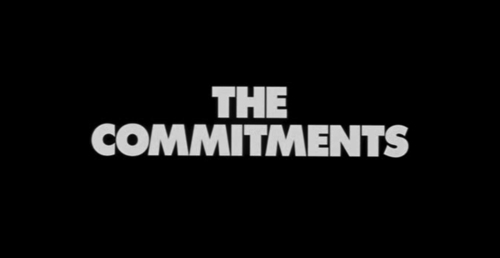 The Commitments title screen