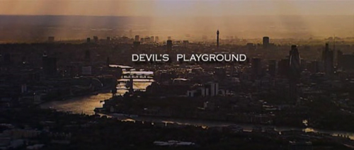 Devil's Playground title screen