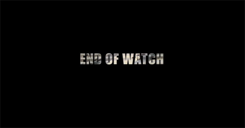 End Of Watch title screen