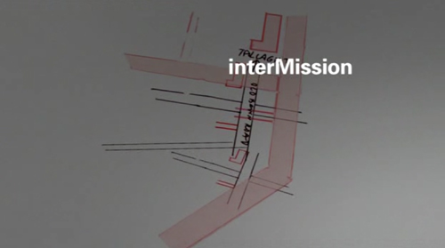 Intermission title screen