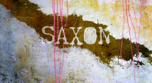 Saxon title screen
