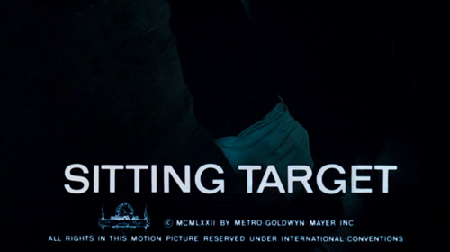 Sitting Target ttile screen