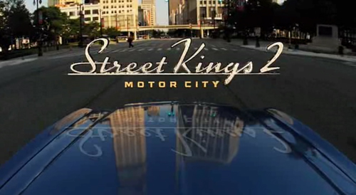 Street Kings 2: Motor City title screen