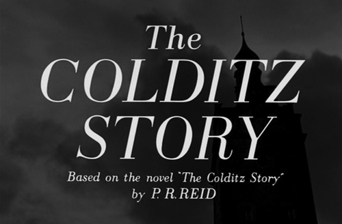 The Colditz Story title screen