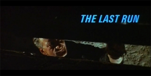 The Last Run title screen