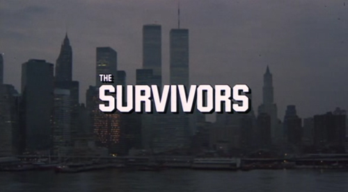 The Survivors title screen