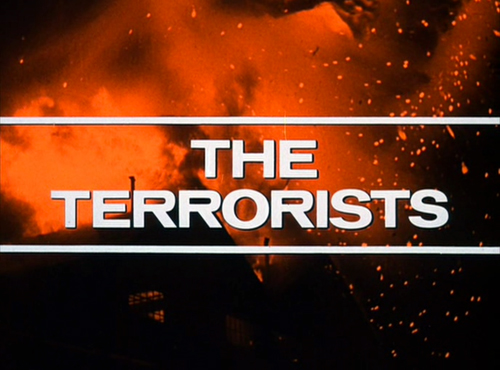 The Terrorists title screen