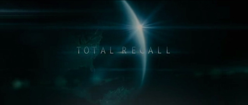 Total Recall (2012) title screen