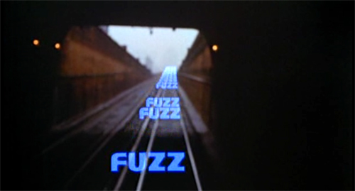 Fuzz title screen