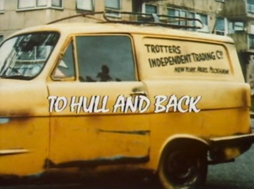 Only Fools And Horses: To Hull And Back title screen