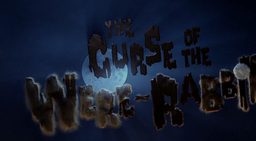 The Curse Of The Were-Rabbit title screen