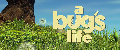 A Bug's Life title screen