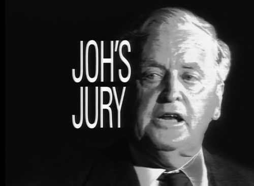 Joh's Jury title screen