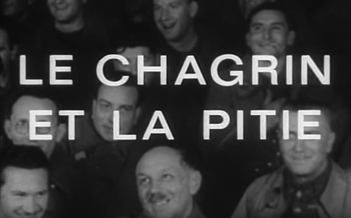 Le Chagrin Et La Pitié title screen