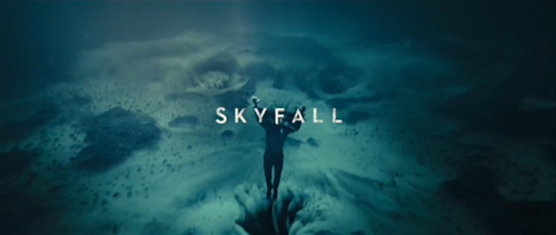 Skyfall title screen
