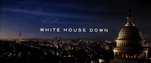 White House Down title screen