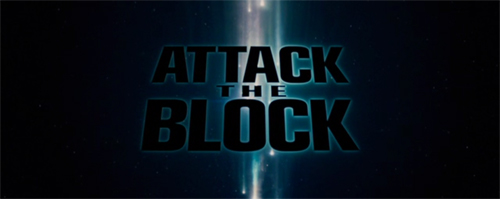 Attack The Block title screen