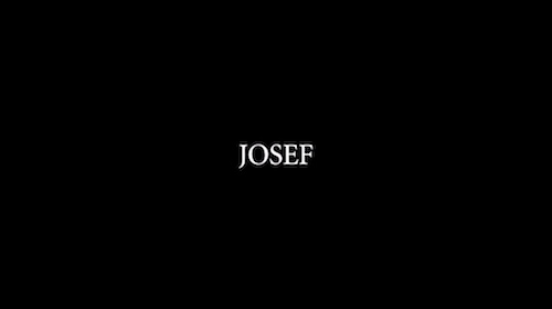 Josef title screen