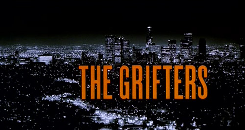 The Grifters title screen