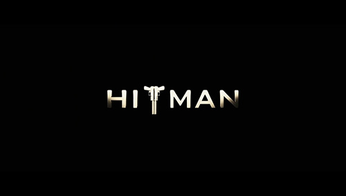 Hitman title screen