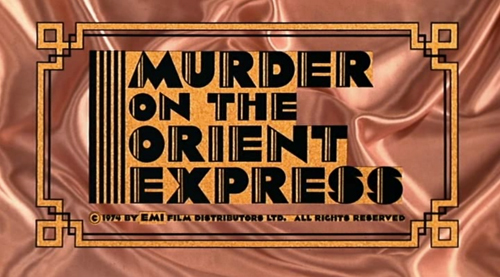 Murder On The Orient Express title screen