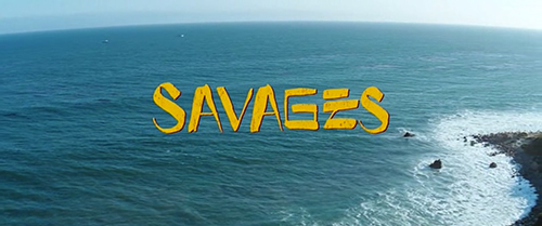 Savages title screen