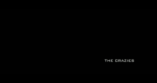 The Crazies (2010) title screen