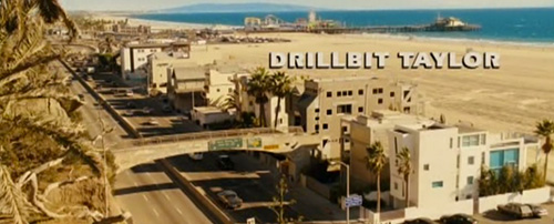 Drillbit Taylor title screen