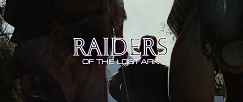 Raiders Of The Lost Ark title screen