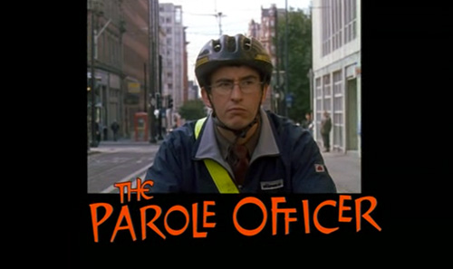 The Parole Officer title screen