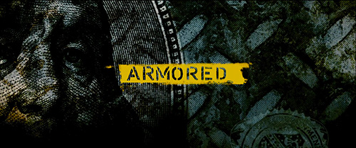 Armored title screen