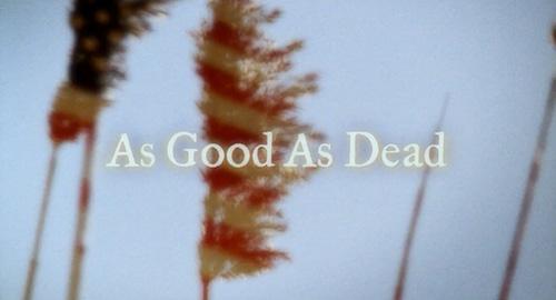 As Good As Dead title screen