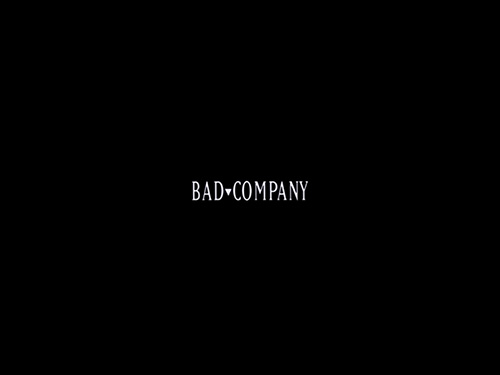 Bad Company title screen