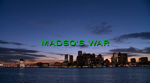 Madso's War title screen