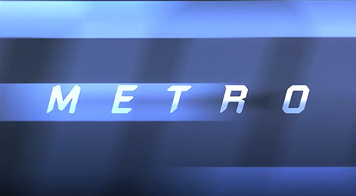 Metro title screen
