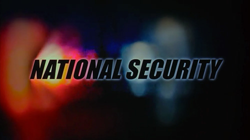 National Security title screen